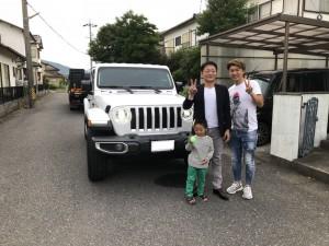 岐阜県のS様に新型 JL ジープ ラングラー アンリミテッド サハラをご納車させて頂きました。