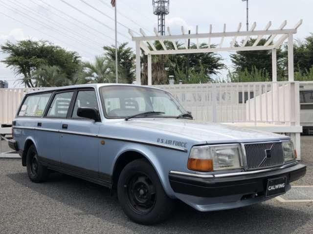 ボルボ 240 ワゴン(エステート) GL ディーラー車 カリフォルニアサーフスタイル