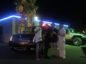 ヴァンフォーレ甲府 #27 新井 涼平選手にエスカレード ESV プラチナムをご納車させて頂きました。