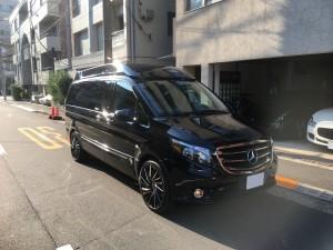 東京都のN社長様に新車 メルセデスベンツ メトリス RITZDESIGNコンバージョンをご納車させていただきました。