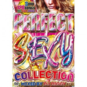 DJ DIGGY PERFECT SEXY COLLECTION DVD 3枚組 全120曲!
