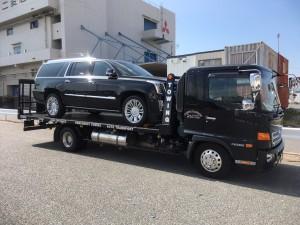 兵庫県のH社長様に 新車 キャデラック エスカレードESV プラチナムをご納車させていただきました。