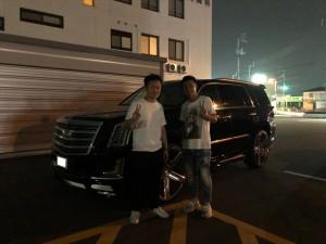 香川県のT医院長様に新車キャデラック  エスカレード ネクストネイションコンプリートモデルをご納車させて頂きました。