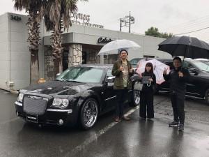 千葉県のO様にクライスラー 300C 5.7HEMI 最終モデルをご納車させて頂きました!