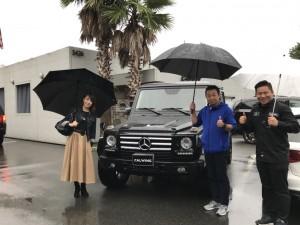 長野県のT社長様にメルセデスベンツG550をご納車させて頂きました。