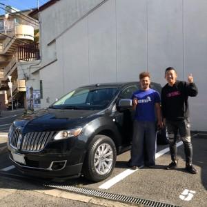 大阪のM様にリンカーン MKXをご納車させていただきました。
