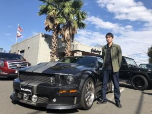 2台目のご購入有難うございます! 千葉県のS様にフォード マスタング GT500E エレノア  SALEENスーパーチャージャーをご納車させて頂きました。