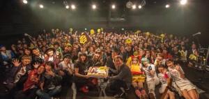 ロックシンガー矢沢洋子さんのデビュー10周年&バースデーパーティーにご招待いただきました。