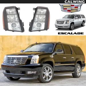 ヘッドライトセット インナーブラック ブラックベゼル アフターマーケットパーツ | Cadillac/キャデラック ESCALADE/エスカレード '07~'14y 【アメ車パーツ】