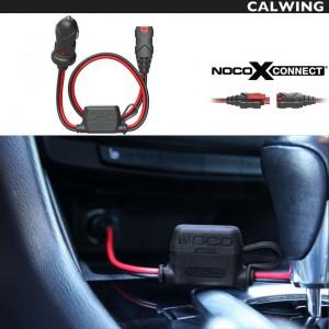 X CONNECT 12Vシガーオスプラグコネクター バッテリーチャージャー用 GC003 NOCO/ノコ   バッテリーケーブル シガーソケット充電 【アメ車 欧州車 国産車 汎用】