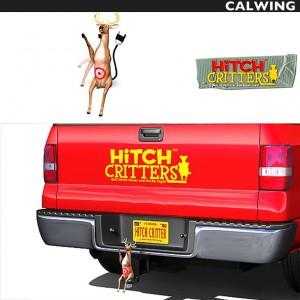ヒッチカバー DON'T SHOOT DEER HITCH CRITTERS/ヒッチクリッター | ブレーキライト連動 ヒッチボールカバーなどに!【汎用品】