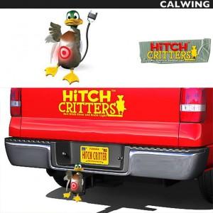 ヒッチカバー DUCK DUCK HITCH CRITTERS/ヒッチクリッター | ブレーキライト連動 ヒッチボールカバーなどに!【汎用品】