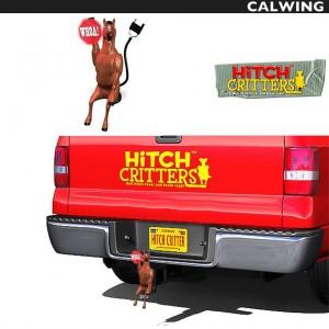 ヒッチカバー WHOA HORSEY HITCH CRITTERS/ヒッチクリッター | ブレーキライト連動 ヒッチボールカバーなどに!【汎用品】