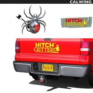 ヒッチカバー BLACK WIDOW HITCH CRITTERS/ヒッチクリッター | ブレーキライト連動 ヒッチボールカバーなどに!【汎用品】