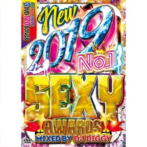 DJ DIGGY NEW 2019 NO.1 SEXY AWARDS DVD 3枚組 全120曲!