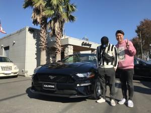 2台目のご購入有難う御座います!!茨城県のT様に新車フォード マスタング コンバーチブル GTプレミアムをご納車させて頂きました。