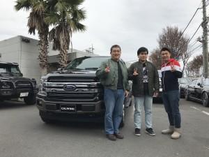 神奈川県のI院長先生に新車フォード F-150 ラリアットをご納車させて頂きました。