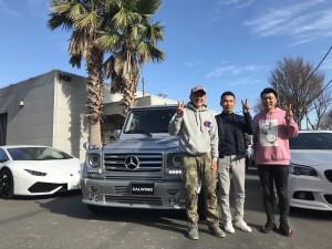 茨城県のI社長様にメルセデスベンツ G550 A.R.T Versionをご納車させて頂きました。