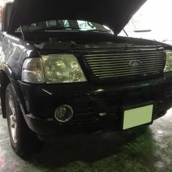 フォード エクスプローラー ABS 点灯 故障 修理 2004年