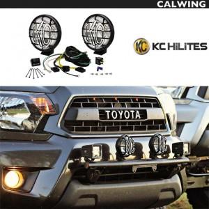 オフロードライト KC HILITES APOLLO プロハロゲン 6インチ100W スポットライト 2個セット | JEEP/ジープ WRANGLER/ラングラー等 【汎用品】