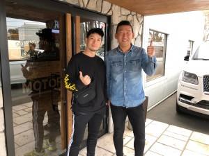 アーティストの清木場俊介さんに 新車 フォードF-150 ラプターをご納車させていただきました。