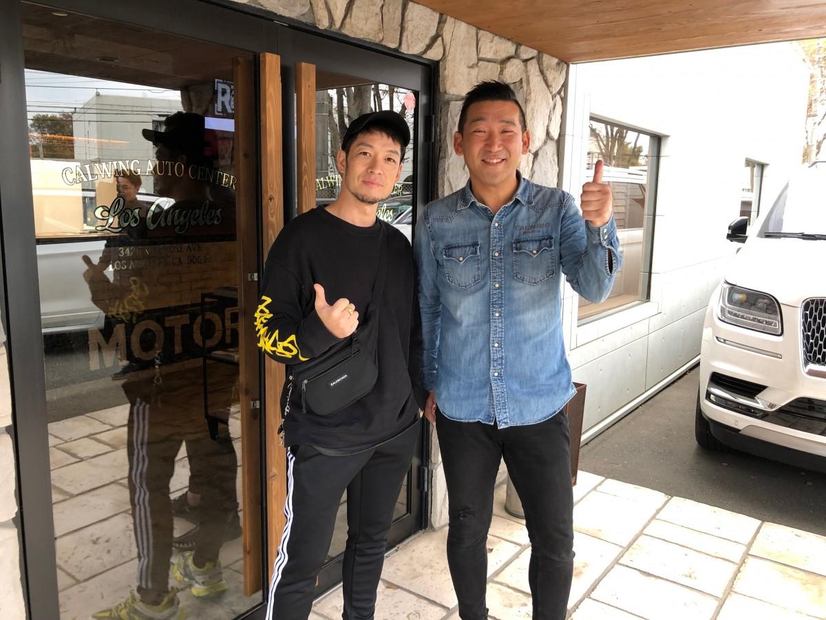 アーティストの清木場俊介さんに 新車 フォードF-150 ラプターをご納車させていただきました!