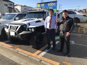東京都のT社長様にJEEP ラングラー アンリミテッド LA BAD WRANGLERをご納車させて頂きました。