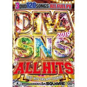 I-SQUARE DIVA 2019 SNS ALL HITS DVD 3枚組 全120曲!