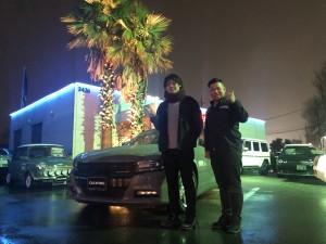 東京都のO様に新車 ダッジ チャージャー RTをご納車させて頂きました。