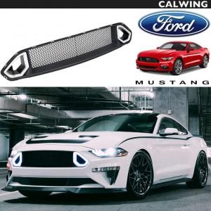 FORD/フォード MUSTANG/マスタング '18y~ | フロントグリル DRL グリル ライト付き マッスルカスタム 【アメ車パーツ】
