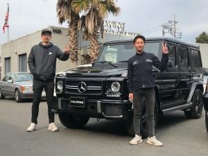 埼玉県のK社長様にメルセデスベンツ G63をご納車させて頂きました。