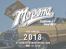 19th Annual MOPONA CAR SHOW & SWAP MEET
