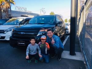 埼玉県のK様に フォード エクスプローラー スポーツをご納車させていただきました。