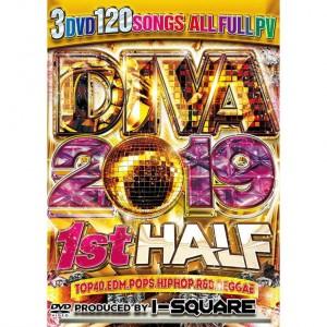 I-SQUARE DIVA BEST OF 2019 1st HALF DVD 3枚組 全120曲!