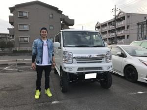 東京都のT様に新車スズキ エブリィワゴン カスタムをご納車させて頂きました。