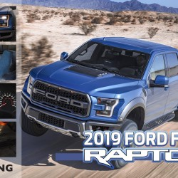 新車カタログに2019年モデル フォード F-150 ラプターを更新致しました。