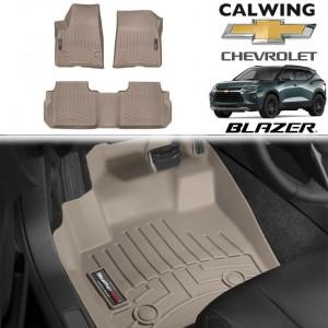 【車種専用設計】CHEVORET/シボレー BLAZER/ブレイザー '19y- | フロアマット タン フロアライナー WeatherTech【アメ車パーツ】