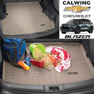 【車種専用設計】CHEVORET/シボレー BLAZER/ブレイザー '19y- | カーゴマット タン カーゴライナー WeatherTech【アメ車パーツ】
