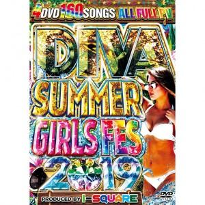 I-SQUARE DIVA SUMMER GIRLS FES 2019 DVD 4枚組 全160曲!