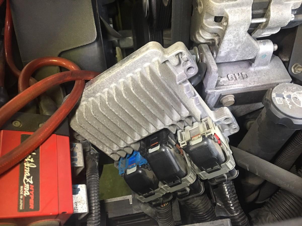 シボレー トレイルブレイザー エンスト 故障 エンジン 不調