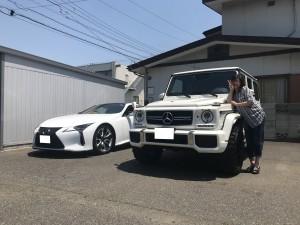 2台目のご用命有難う御座います!千葉県のI社長様にメルセデスベンツ G63をご納車させて頂きました。