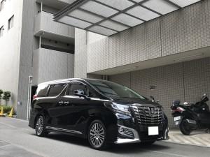 10台目のご購入有難う御座います。東京都のS社長様にトヨタ アルファードをご納車させて頂きました。