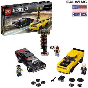 LEGO レゴ スピードチャンピオンズ | ダッジ チャレンジャー チャージャー レース 日本未発売 子供用 7歳から 【TOY 雑貨】