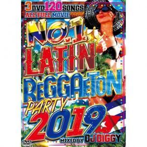 DJ DIGGY NO.1 LATIN REGGAETON PARTY 2019 DVD 3枚組 全120曲!