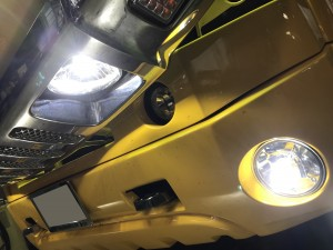 ハマー H2 車検 整備 LED カスタム