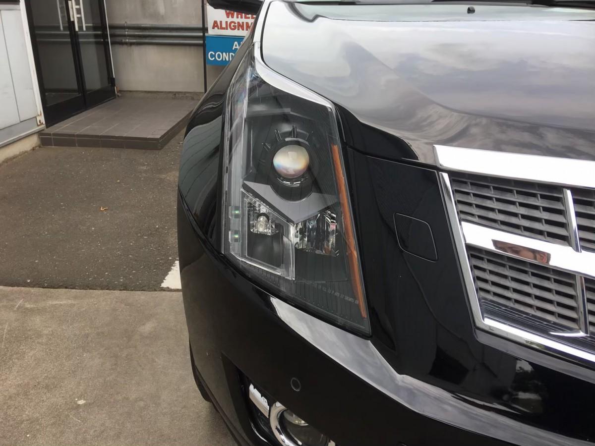 キャデラック SRX ヘッドライト くもり インナーブラック 社外品 交換