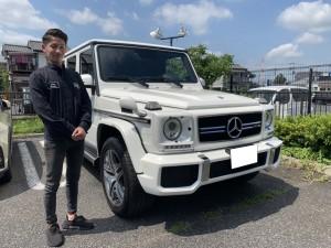 2台目のご購入有難う御座います。埼玉県のM先生にメルセデスベンツ G63 デジーノエクスクルーシブを納車させて頂きました。