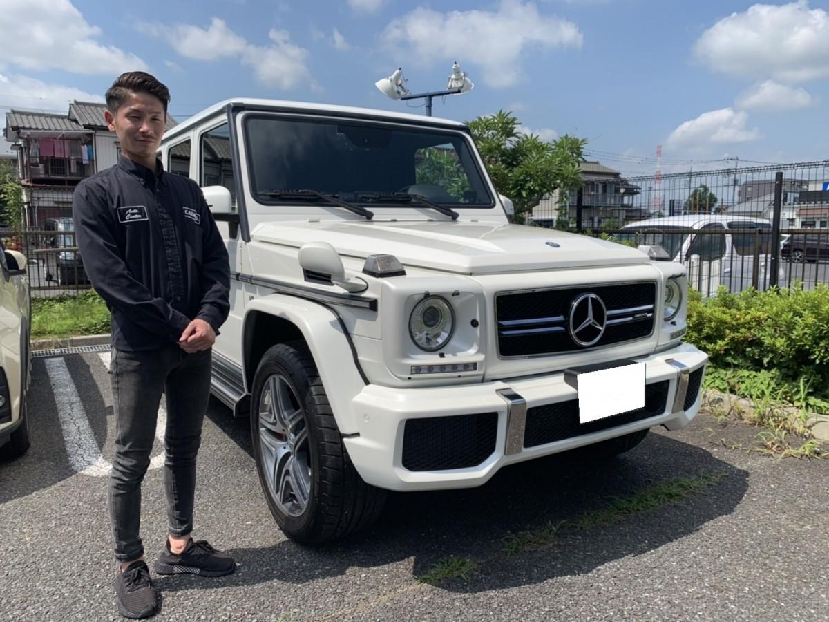 2台目のご購入ありがとうございます!埼玉県のM先生にメルセデスベンツ G63 デジーノエクスクルーシブを納車させて頂きました!