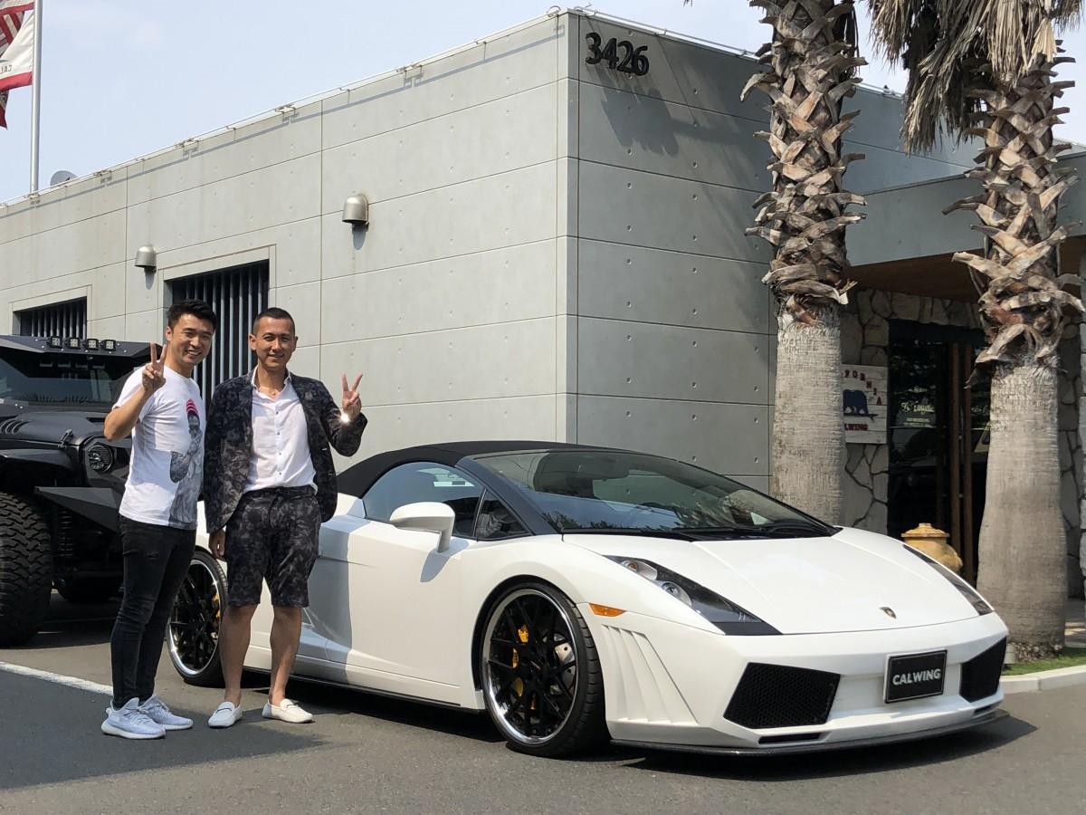 北海道のトミーモータース様にランボルギーニ ガヤルドスパイダー レイターエンジニアリング GT3をご納車させて頂きました!