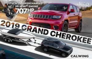 新車カタログに2019年モデル ジープ グランドチェロキーを更新致しました。
